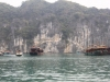 Boote in der Halong Bay