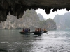 Felsformation in der Halong Bay