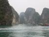 Boote in der Halong Bucht