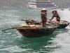Fischer in der Halong Bucht
