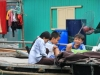 Vietnamesische Kinder in der Halong Bucht