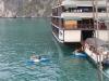 Kanuten zurück am Boot
