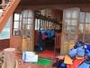 Auf dem Boot in der Halong Bay