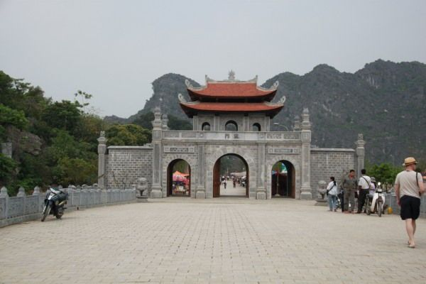 Tempel in der Nähe von Hanoi