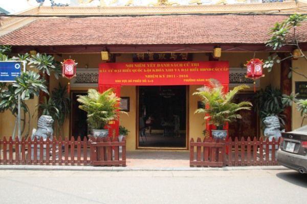 Bach Ma Tempel in Hanoi