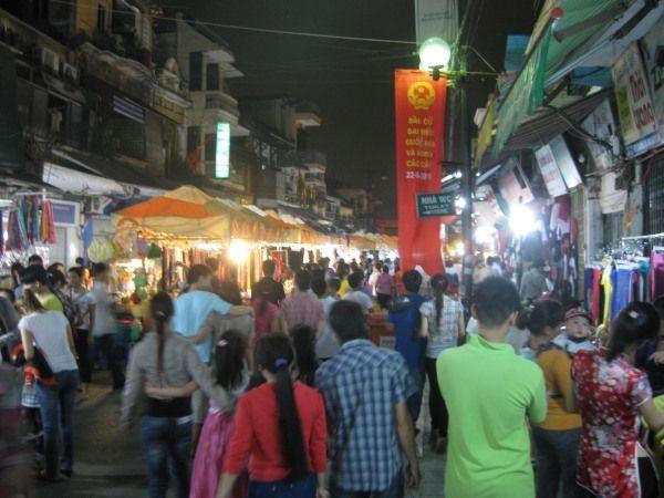 Nachtmarkt Hanoi