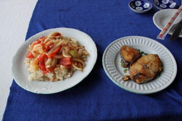 Frisch gegrillter Fisch in Hoi An