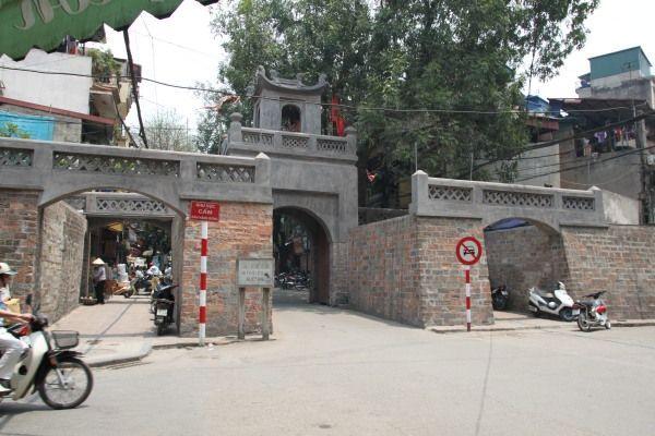 Stadttor Cua O Quan Chuong in Hanoi