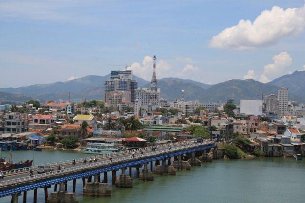 Blick auf Nha Trang