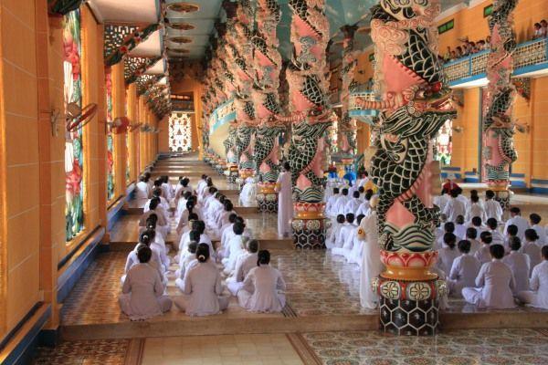 Im Kao Dai Tempel