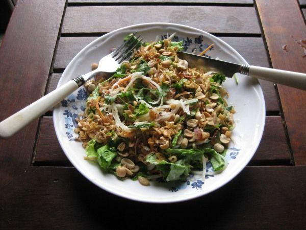 Essen im vietnamesischen Restaurant