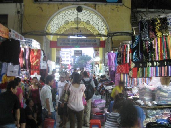 Markt in der Nähe von meinem Hotel