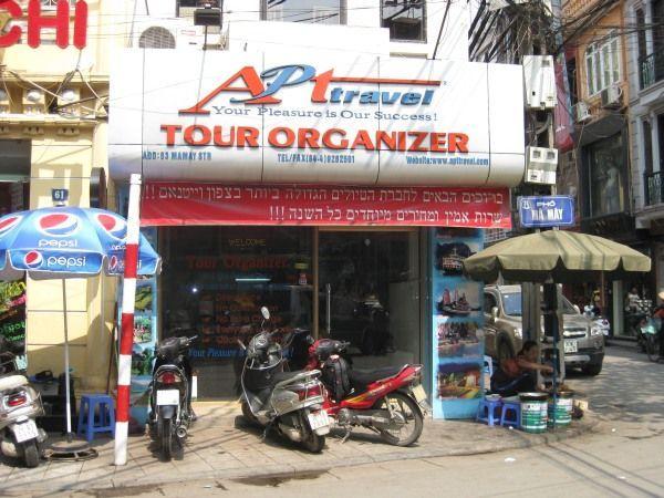 AP Travel Büro in Hanoi