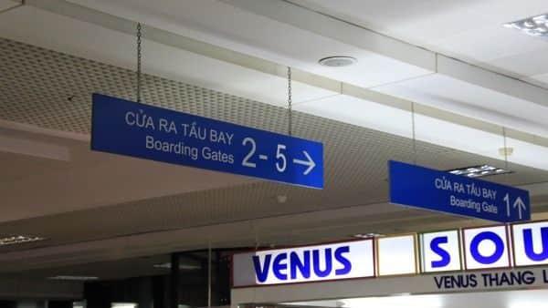 Flughafen in Vietnam