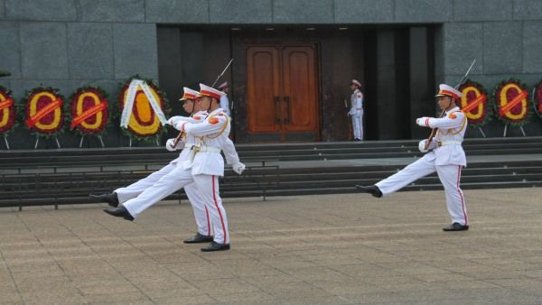 Ho Chi Minh Mausoleums - Changing of the Guard