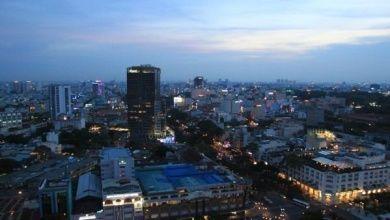 Saigon bei Nacht