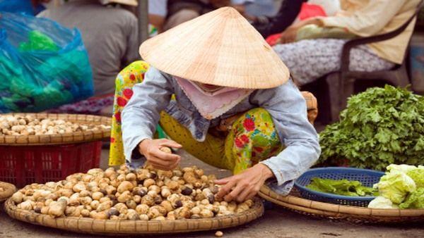 Vietnamesin in Ha Tien