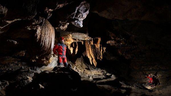 Caving – Höhlenklettern