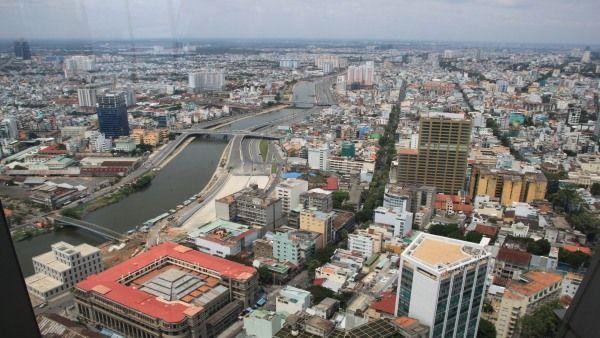 Blick über Saigon