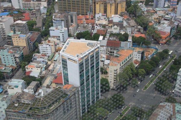 Blick von der Rooftop Bar